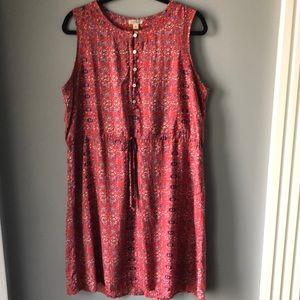 Lucky Brand sleeveless dress.              F